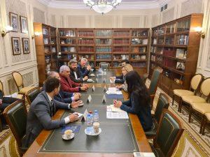 زاهي حواس يلقي محاضرة عن الاكتشافات الأثرية في روسيا