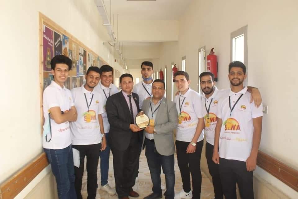 """""""سيوه جنة الصحراء"""" مشروع تخرج بإعلام الأزهر يحصل على المركز الأول في مهرجان مناقشة مشروعات التخرج"""