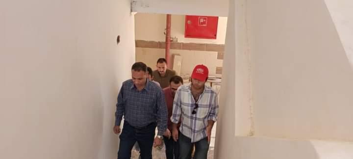 استعدادًا للامتحانات.. تعقيم وتطهير المدارس واللجان والمقرات ببورسعيد