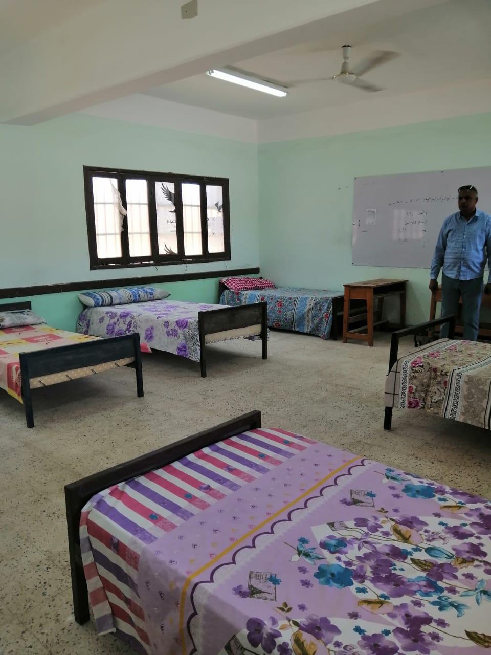 «عمليات المعلمين» تتابع تسكين مراقبي الثانوية العامة وتتفقد جودة الاستراحات