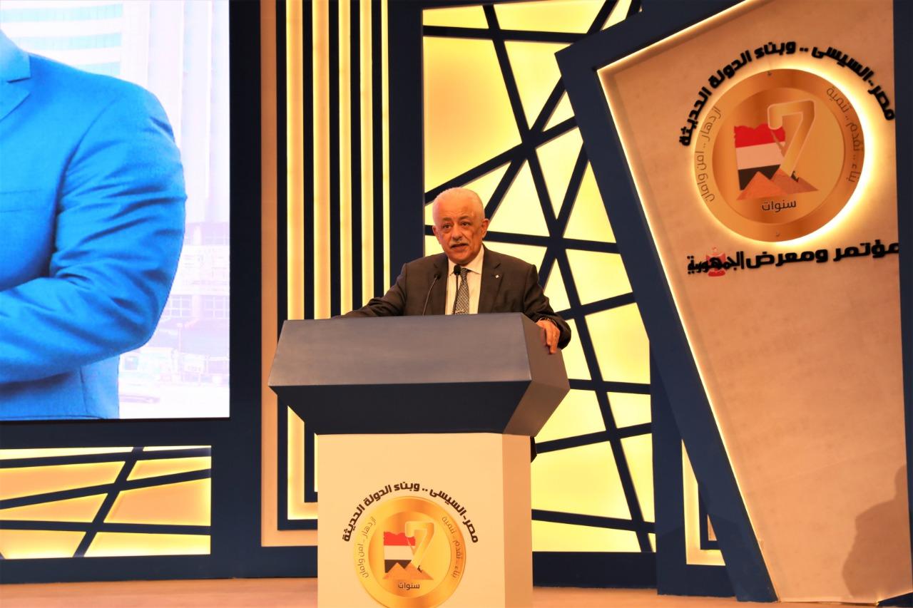 وزير التعليم: تسليم 700 ألف تابلت لدفعة أولي ثانوي 2021/2022