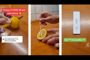 للتغيب عن المدرسة.. طلاب يستخدمون عصير الليمون في تزييف اختبارات كورونا