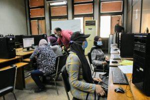 معامل تنسيق جامعة القاهرة تستقبل طلاب الثانوية العامة لتسجيل رغبات المرحلة الثانية