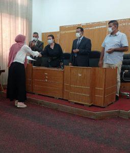 تربية حلوان تحتفي بأبنائها المشاركين في مبادرة مصر بلا أمية
