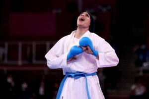 الرئيس السيسي يهنئ فريال أشرف بفوزها بأول ذهبية لمصر في أولمبياد طوكيو 2020