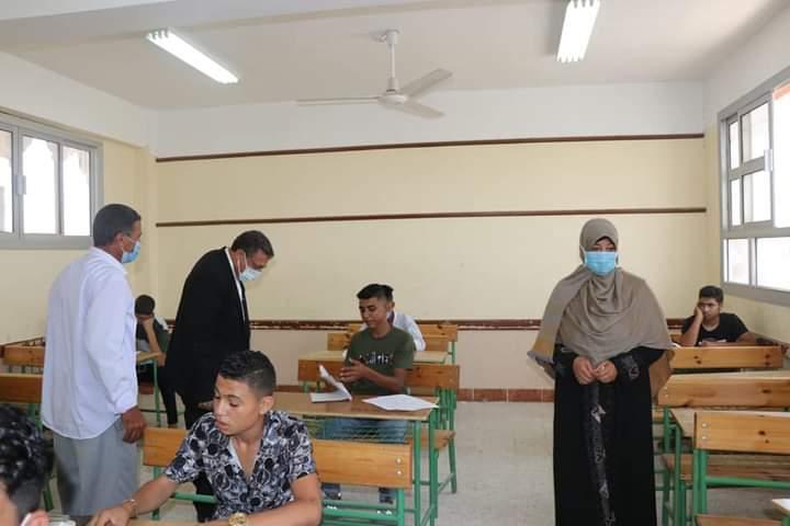 انطلاق امتحانات الدور الثانى للشهادة الاعدادية بالبحيرة