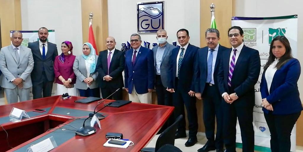 بروتوكول تعاون بين جامعة الجلالة ومصر الخير لتقديم منح دراسية وقوافل صحية