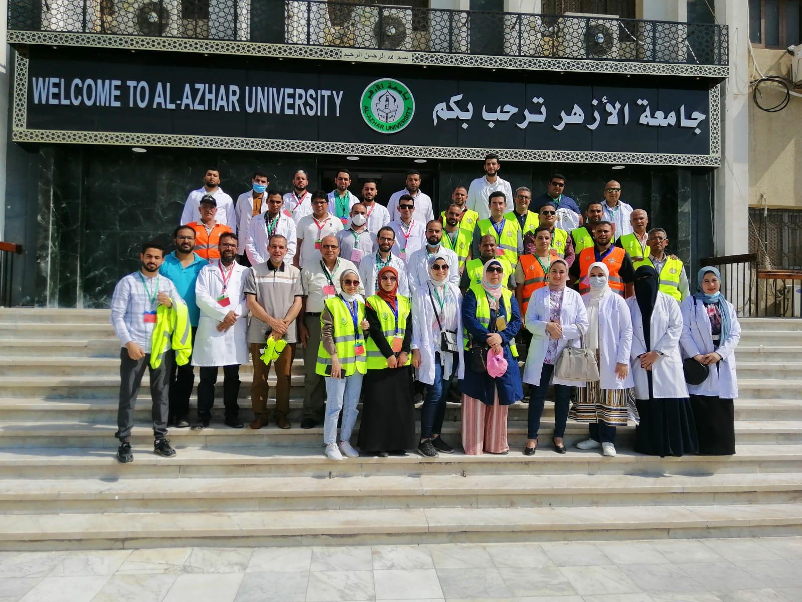 """انطلاق قافلة جامعة الأزهر التنموية لمحافظة الفيوم دعمًا للمبادرة الرئاسية: """"حياة كريمة"""""""