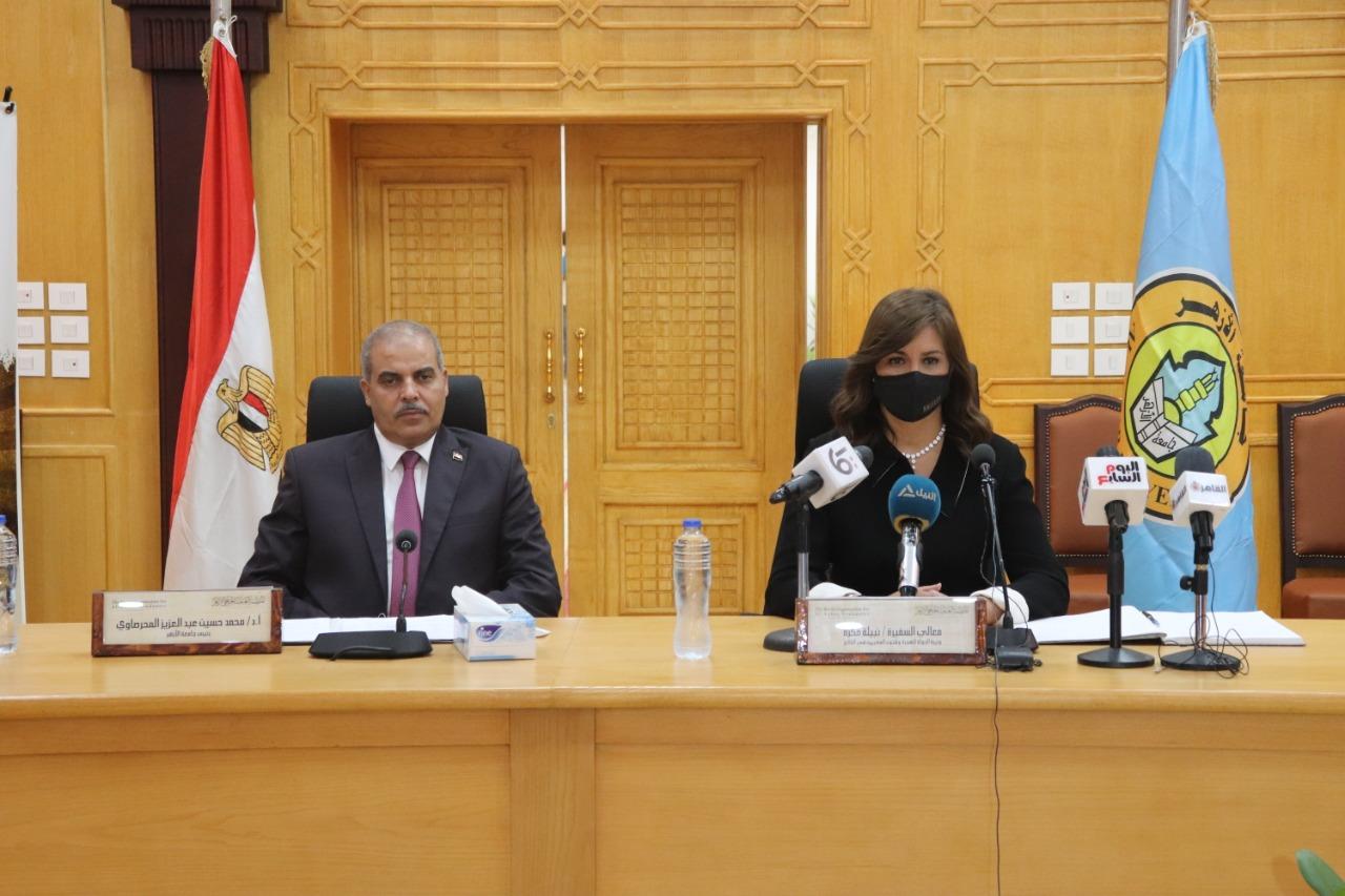 رئيس جامعة الأزهر يتعهد بتقديم الدعم للمبادرة الرئاسية (قوارب النجاة)