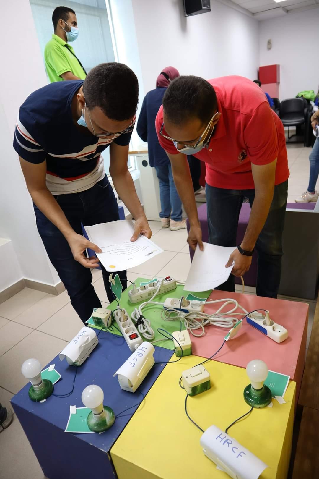 طلاب هندسة حلوان يشاركون في مهرجان IEEE Helwan SB للتكنولوجيا والابتكار