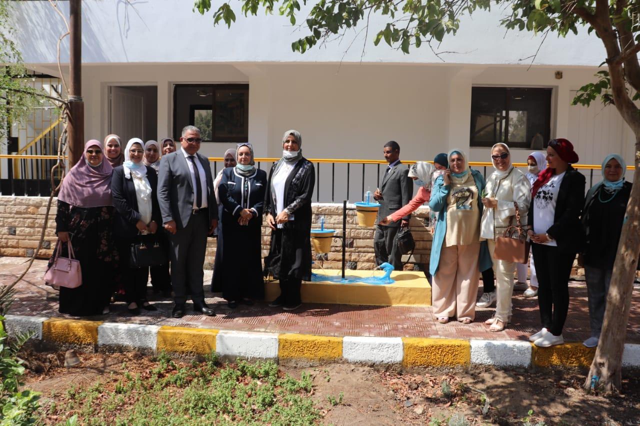 نائب رئيس جامعة الأزهر يدشن مبادرة (ولا تسرفوا) بحضور عمداء ووكلاء الكليات
